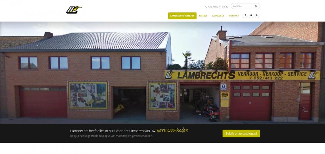 Lambrechts verhuur nieuwe website online for Binnenhuis trappen